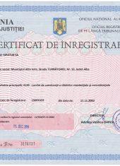 certificat-de-inregistrare